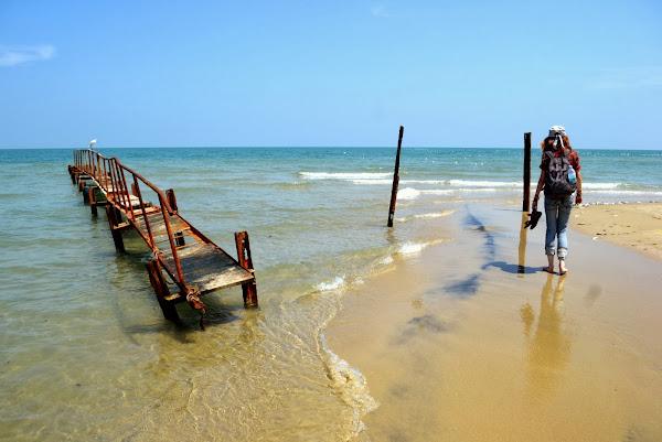 океан, побережье, пляж