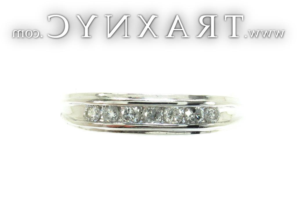 Full Size Picture for Mens Channel Diamond Ring 22033