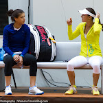 Sorana Cirstea & Martina Hingis