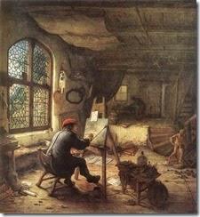 14834-the-painter-in-his-studio-adriaen-jansz-van-ostade