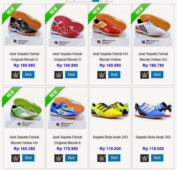TasampSepatu Model Sepatu Dan Harganya