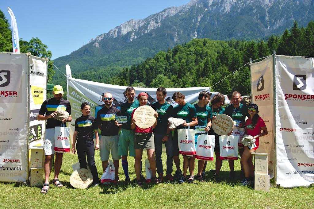Podiumul, cu echipa Vulcanii Noroiosi pe primul loc, terminand concursul in 41 de ore, echipa Valea Rea pe locul 2 terminand concursul in 44 de ore si echipa Gradina Zmeilor pe locul 3 cu 48 de ore. Din 11 echipe prezente la linia de start doar 5 au terminat concursul, si doar 4 in timpul limita.