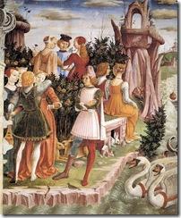 Francesco_del_Cossa_-_Allegory_of_April_-_Triumph_of_Venus_(detail)_-_WGA05375