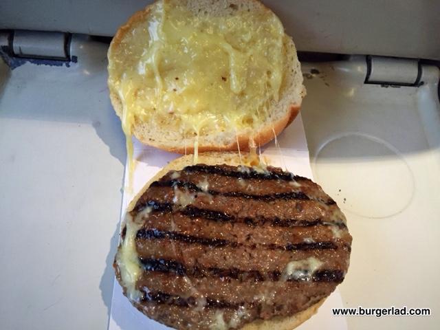 Virgin Trains Diner Cheeseburger