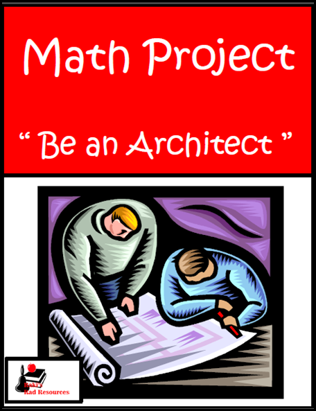 Double Giveaway!!! 3,000 Followers and my birthday giveaway - stop by Raki's Rad Resources to find out about 4 awesome options, including this free be an architect math project