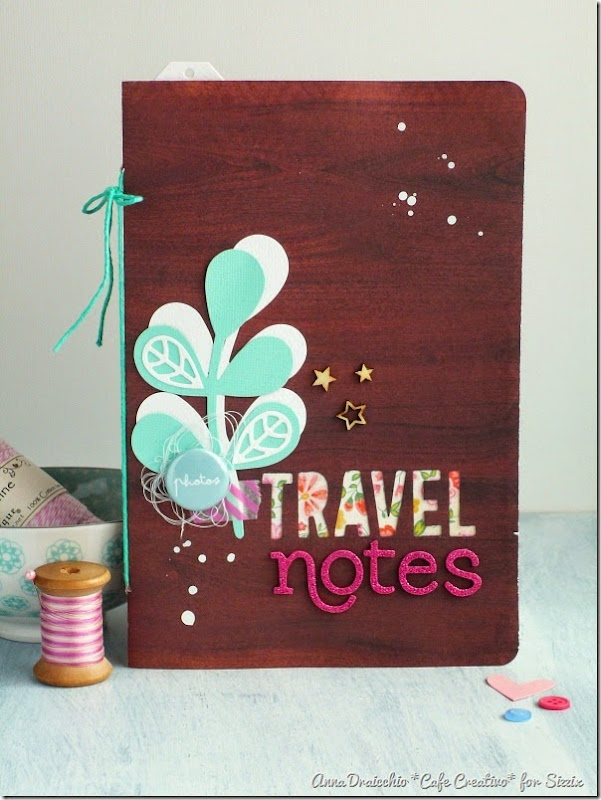 sizzix big shot plus - scrapbooking - mini album - travel journal - by Anna Drai - cafecreativo (1)