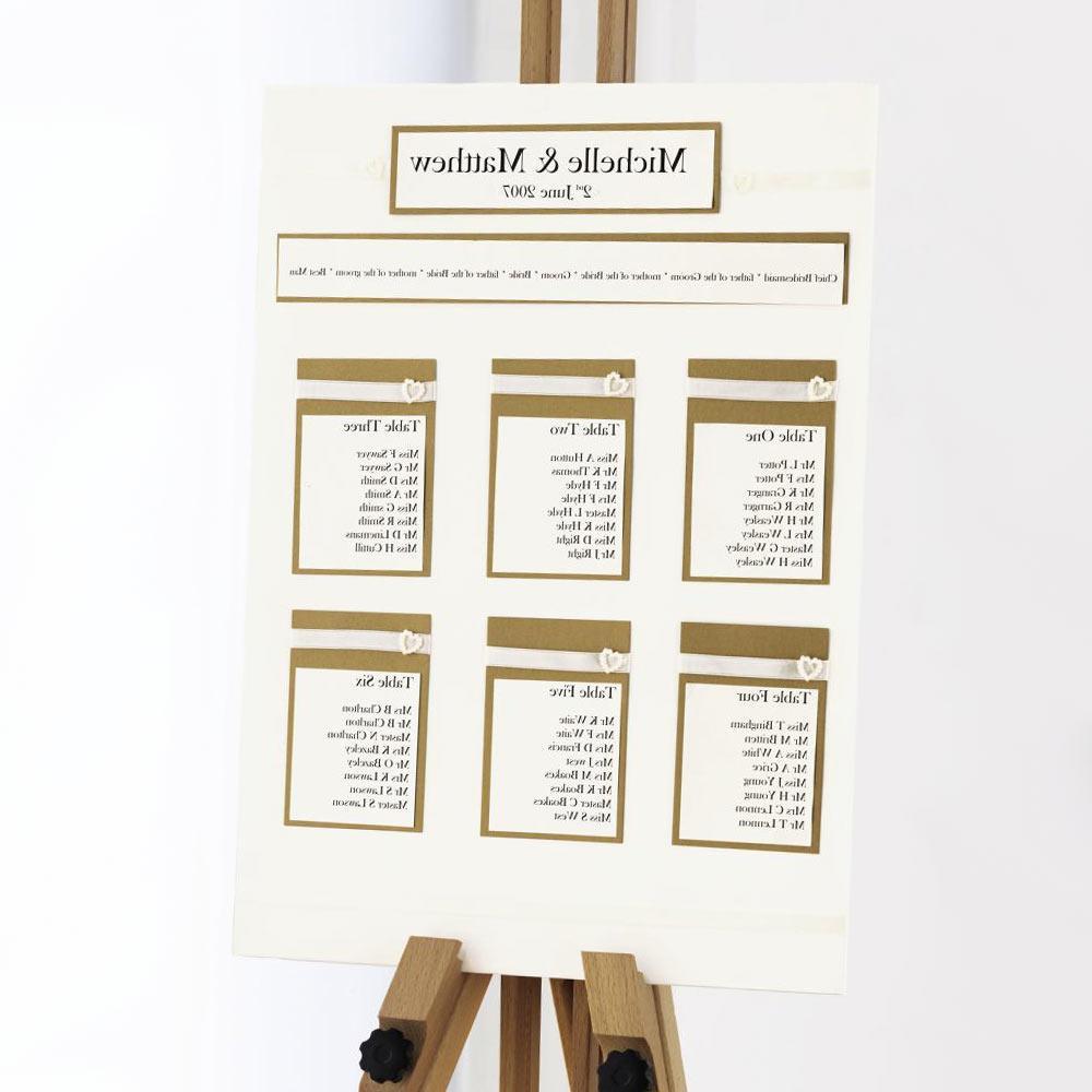 Ivory & Gold Table Planner Kit