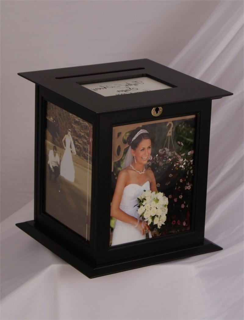 Wedding Money Box Black 8 x 10