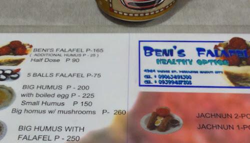 Bilde av en meny