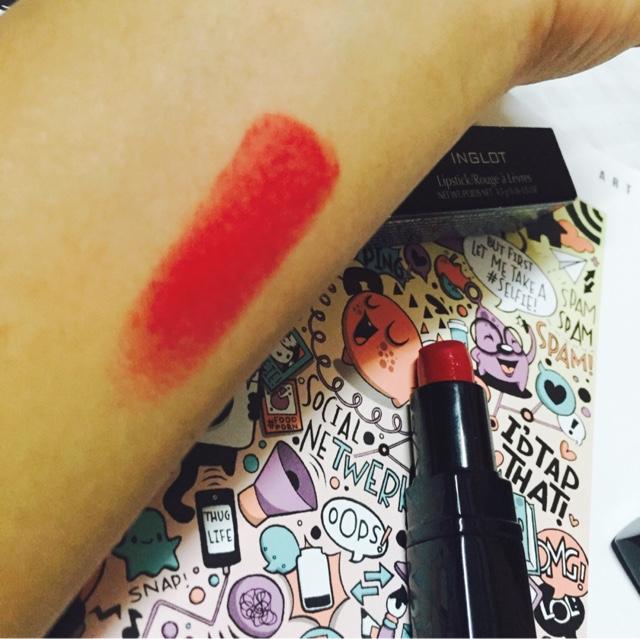 INGLOT matte lipstick 409