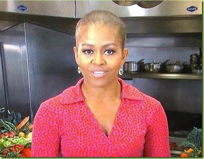michelle-obama no hair