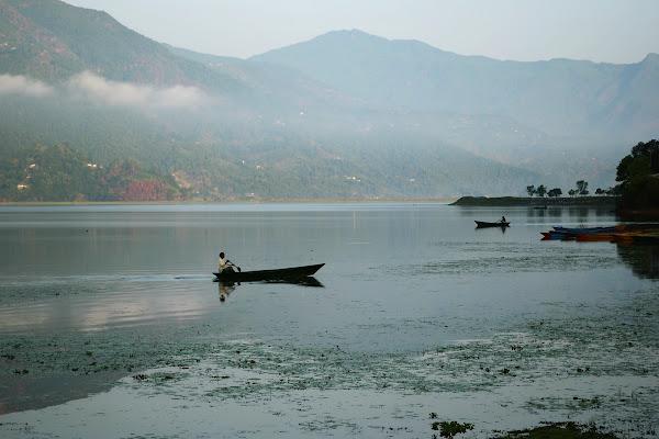 озеро фева покхара