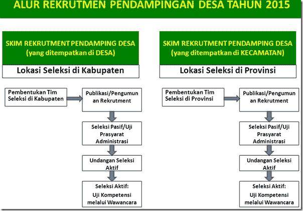 alur Pendaftaran Pendamping Desa Pegawai non CPNS 2015