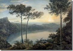 Lake-Albano-and-Castel-Gandolfo-xx-John-Robert-Cozens