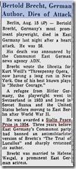 Reading Eagle 13.8.1956