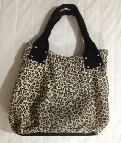 *New* Leopard Canvas Bag $8
