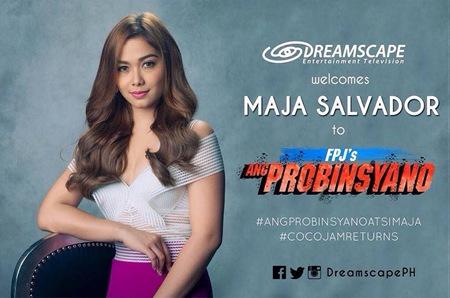 Maja Salvador for Ang Probinsyano