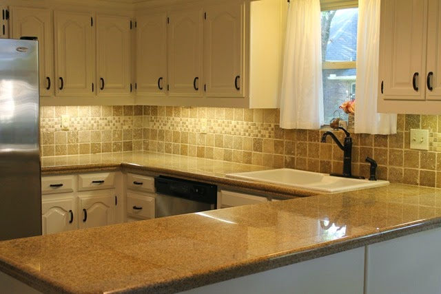 New Countertops : New Countertops for the Storybook Cottage Kitchen