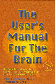 Cover of Michael Hall's Book The Users Manual For The Brain