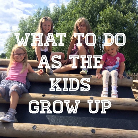 what to do when the kids grow up
