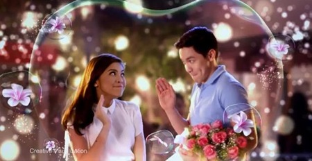 Maine Mendoza and Alden Richards for Downy