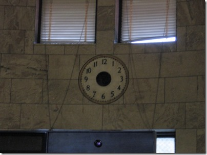IMG_0770 Non-Functional Clock inside Union Station in Portland, Oregon on May 10, 2008