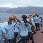 En el barco rumbo a La Palma