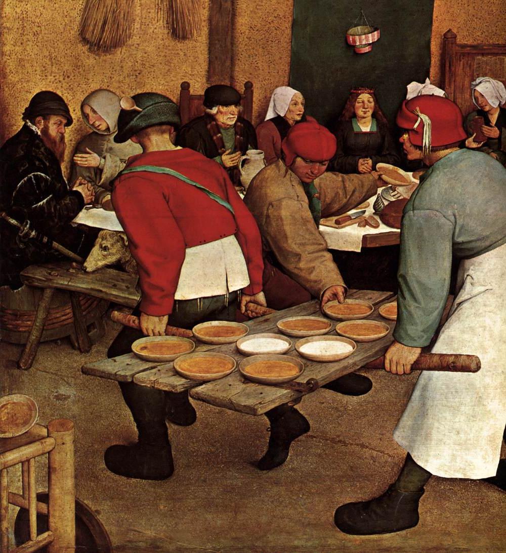 This painting    Peasant Wedding