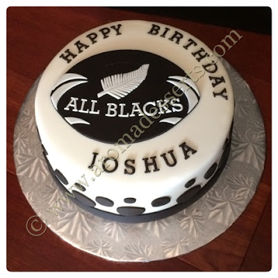 Edible Cake Images New Zealand : Aroma Desserts and More...: New Zealand All Blacks  Rugby ...