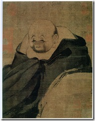 Puppet monk figure