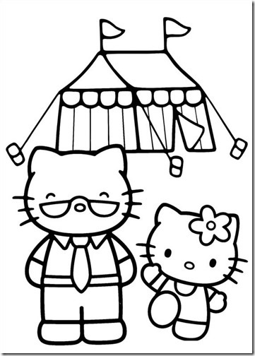 hello kitty circo blogcolorear (3)