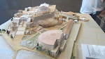 Model of Acropolis, circa 2nd or 3rd century AD
