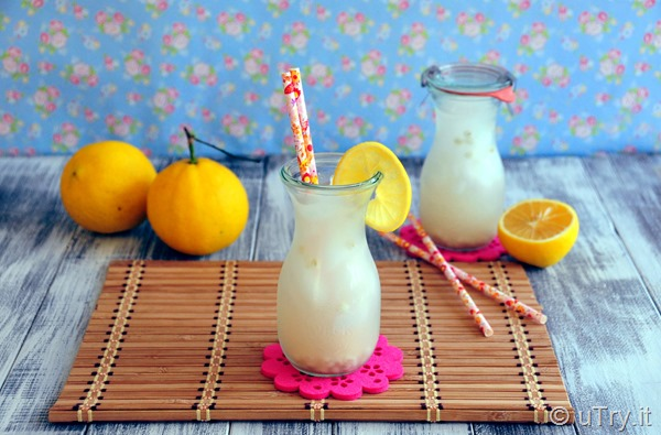Pearl Barley Lemon Water 檸檬薏米水: a popular Asian detox drink. Refreshing and and easy to prepare.  http://uTry.it