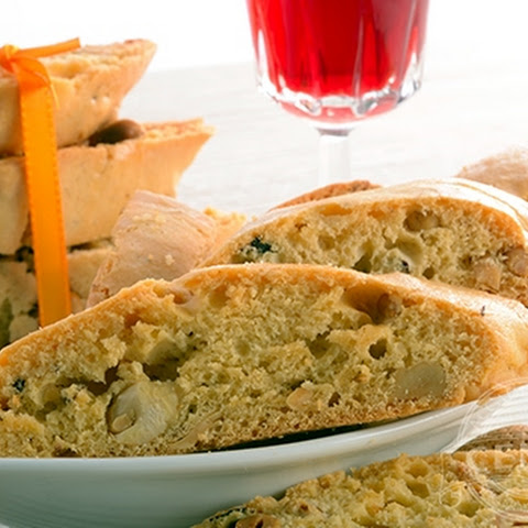 Anise Orange Pine Nut Biscotti