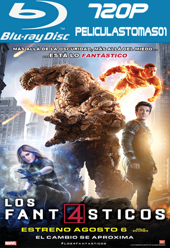 Los 4 Fantásticos (The Fantastic Four) (2015) [BRRip 720p/Dual Latino-ingles]