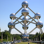the atomium in brussels in Brussels, Brussels, Belgium