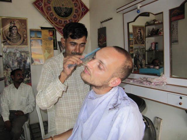 barber in India