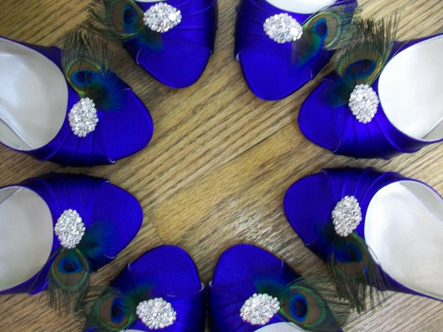 Peacock Package Shoes