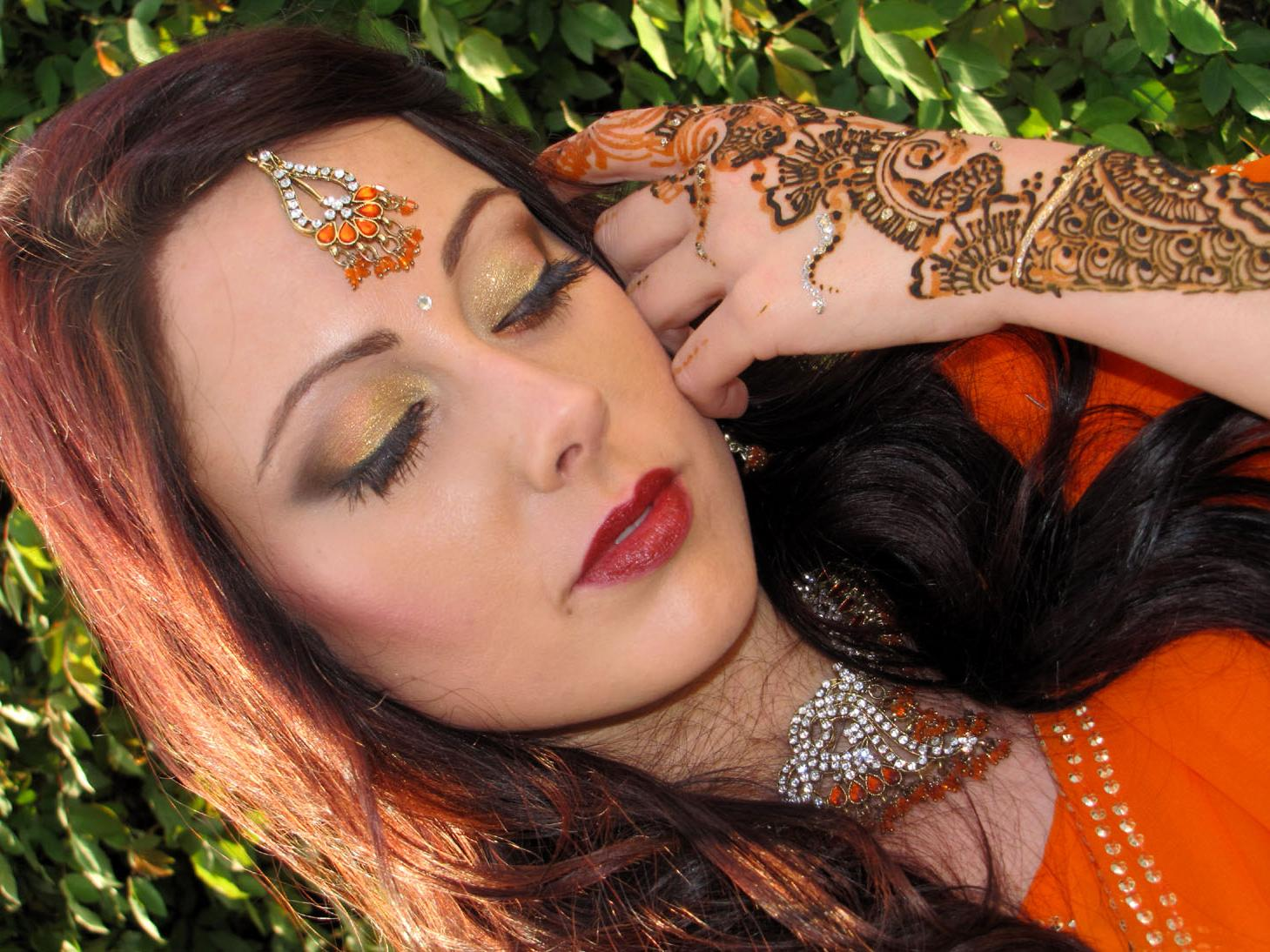 Indian bridal inspired