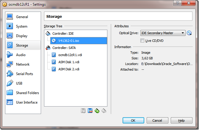 Create VM ISO DVD Image Added