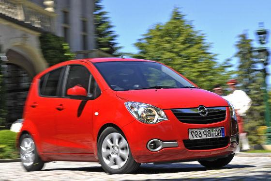Opel Agila: baugleich mit dem
