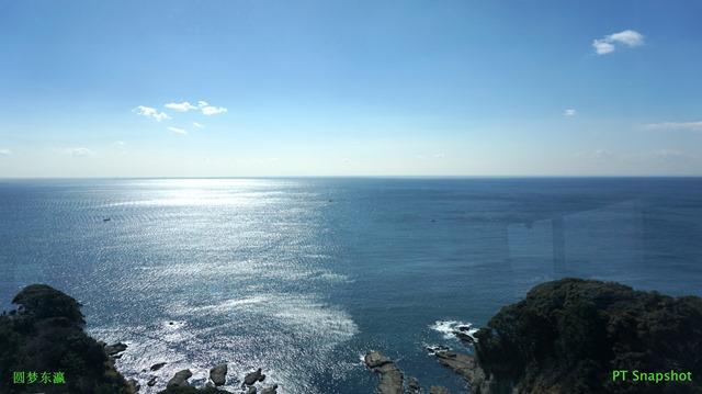 平静的太平洋相模湾