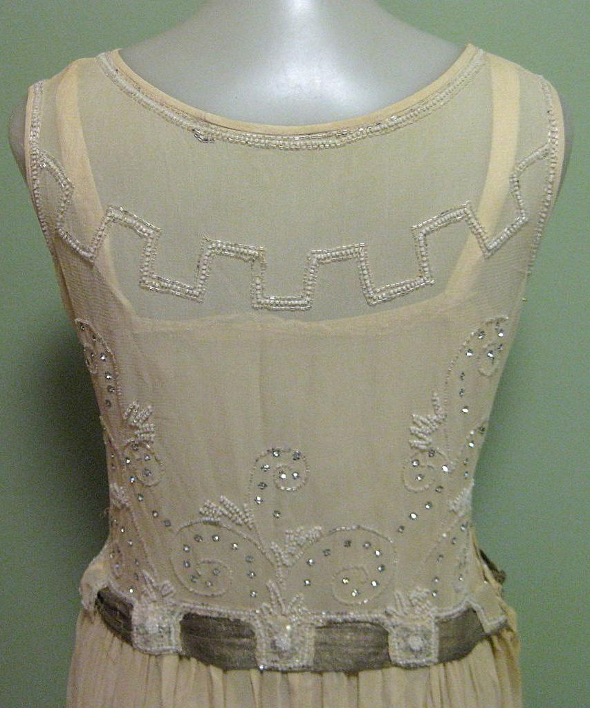 Vintage Art Deco 1920s Silk