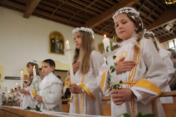 Поздравления к первому причастию для католиков
