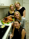 Each of these girls put in no less than 25 hours on this meal, in the course of three days.