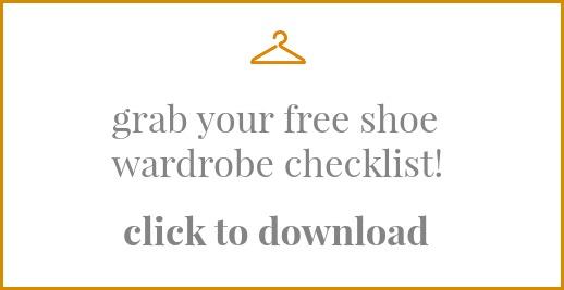 Shoe Wardrobe Checklist
