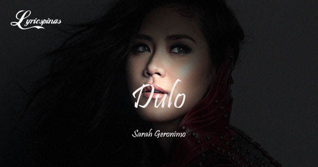 Sarah Geronimo DULO Single
