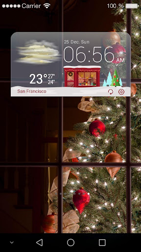 🎄Christmas Weather Widget🎄 For PC