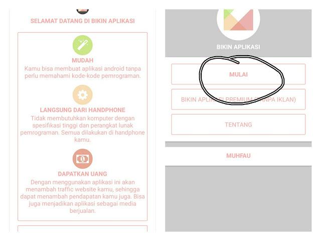 Membuat Aplikasi Android langsung dari Smartphone Android