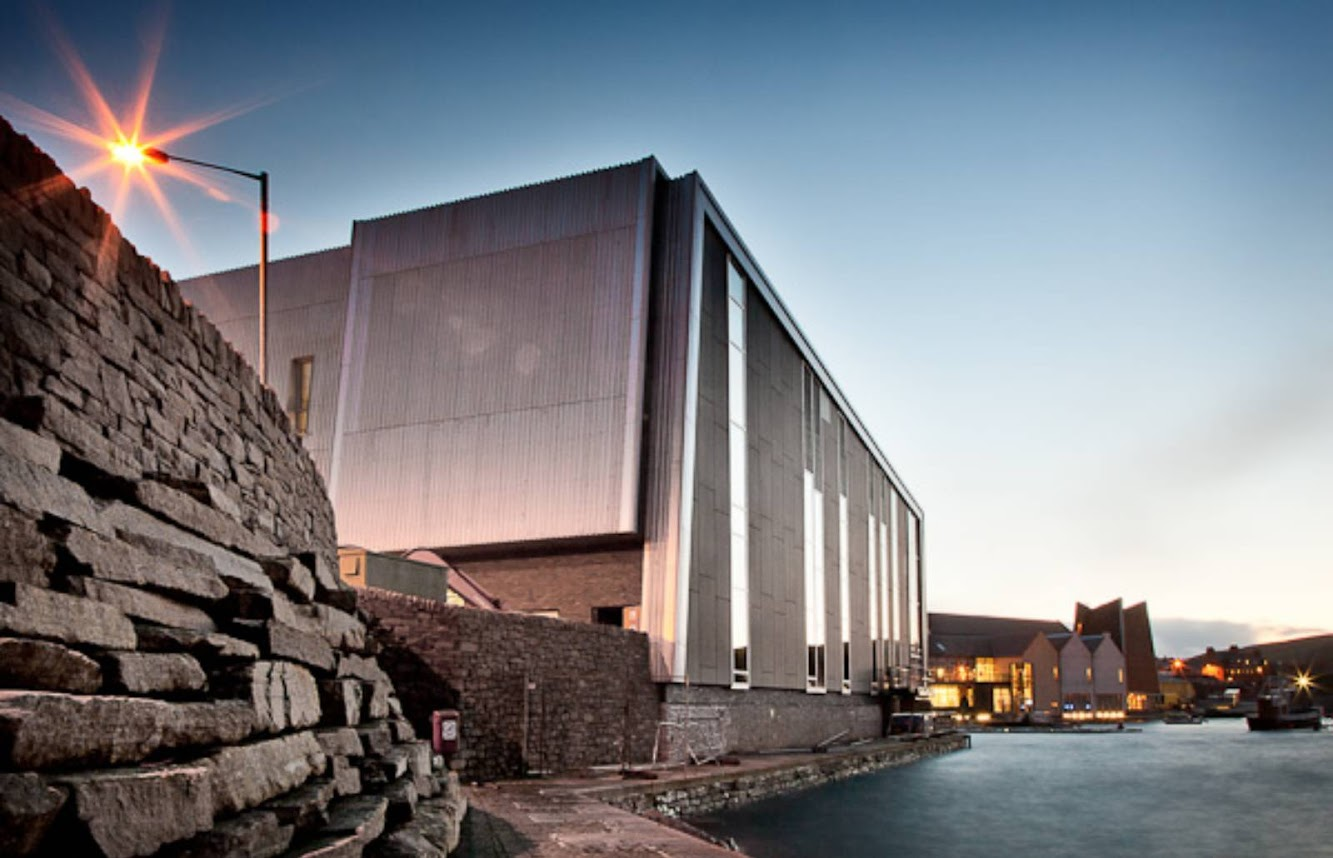 Mareel Arts Centre by Gareth Hoskins Architects